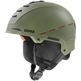 UVEX Legend Pro Casco, leaf green mat